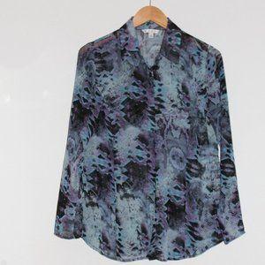 CAbi long sleeve blouse, Size M